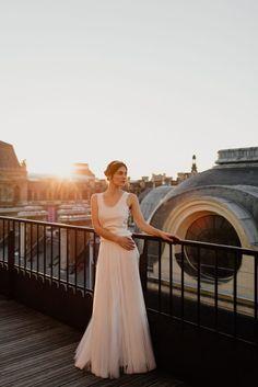 Wedding dresses Bohème Rock for modern brides ! Dress Axel