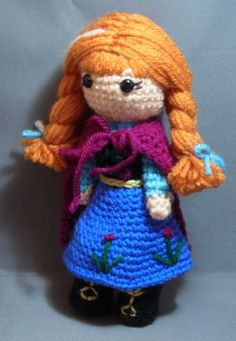 PDF Pattern Cutie Winter Anna Inspired by par JennyLouCreations