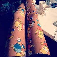 the more random the tights the better..in my opinion :D