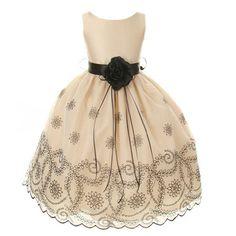 Kids Dream Toddler Girls 2T Champagne Embroidered Flower Girl Dress Kids Dream,http://www.amazon.com/dp/B00CFQWQY0/ref=cm_sw_r_pi_dp_QpXssb136A8RFJW8