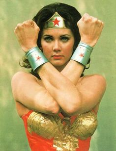 Wonder Woman. This is who I wanted to be when I grew up. Maybe I should phrase that as past tense.