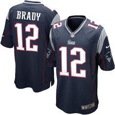 Men s Nike New England  Patriots Tom Brady Game Team Color Jersey Tom Brady  Team 0f114f28d