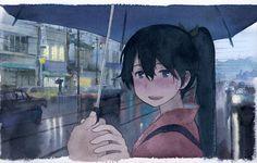 【艦これ】傘を忘れた市電待ちの鳳翔さんに傘を差し出した時の絵 他 : あ艦これ ~艦隊これくしょんまとめブログ~