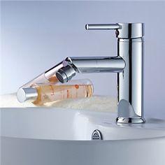 Bidet Faucets - Modern Brass Bidet Faucet - Chrome Finish
