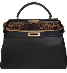 Fendi Peakboo Leopard Linen Bag as seen on Irina Shayk Fendi Peekaboo Bag, Linen Bag, Hailey Baldwin, Irina Shayk, Star Fashion, Hermes Kelly, Kendall Jenner, Kim Kardashian, Celebrity Style