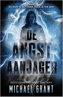 Recensie door Miranda: De Angstaanjager - Michael Grant: http://tboekenblog.blogspot.nl/2015/10/recensie-de-angstaanjager-michael-grant.html