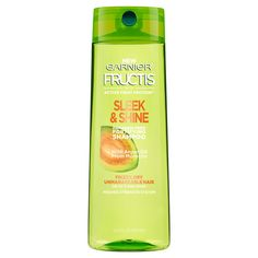 Garnier Fructis with Active Fruit Protein Sleek & Shine Fortifying Shampoo with Argan Oil from Morocco - 12.5 oz