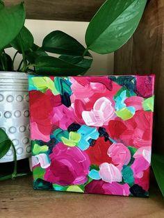 flower art projects for kids . flower art for kids . flower art for toddlers Simple Flower Drawing, Easy Flower Drawings, Flower Art Drawing, Easy Flower Painting, Abstract Flower Art, Flower Painting Canvas, Flower Canvas, Canvas Art, Paintings I Love