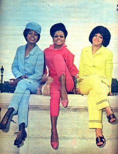 The Supremes color our world.