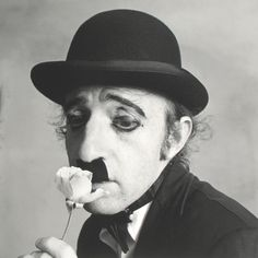 Woody Allen as Chaplin | by Irving Penn, New York, c.1972