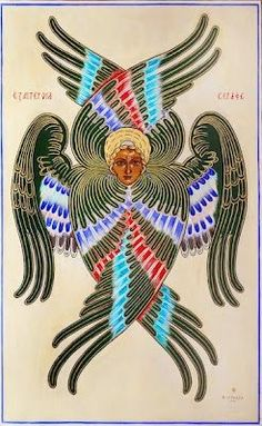 Angel Hierarchy, Order Of Angels, Seraph Angel, Fall Drawings, Spiritual Images, Angel Images, Biblical Art, Byzantine Art, Pop Art