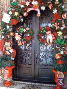 my christmas door find this pin and more on candy themed christmas decorations - Candy Themed Christmas Decorations