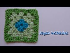 ▶ How To Crochet a Granny Square - Beginners Tutorial & Basic Pattern - YouTube