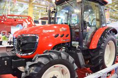 Last October hundreds of trade visitors are excited waiting for the grand opening of the years of Agrilink. Branson Tractor, Grand Opening, Tractors, Vehicles, Red, Opening Day, Car, Vehicle, Tools