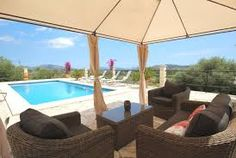 This beautiful villa, with private pool, large terraces and views of distant hills offers ideal accommodation for a large family