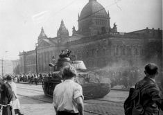 60 years ago, a revolution started in East Germany at several places at the same time. The protests against the government arose to a bloody rebellion. Over 55 people died during these days through the soviet military help. See the list of victims on http://kulturmeister.de/quartett/volksaufstand-der-ddr