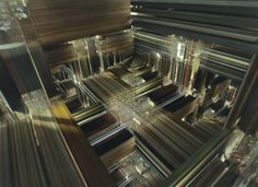 tesseract from Interstellar - Movie still