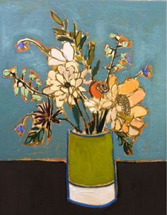 ❀ Blooming Brushwork ❀ - garden and still life flower paintings - Lulie Wallace - Summertime