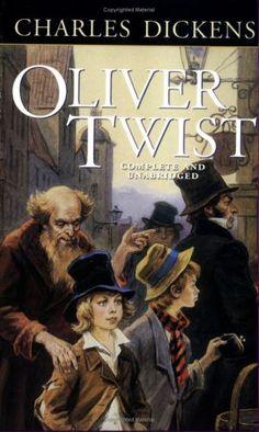 Oliver Twist . Oliver Twist, es la historia de un niño que al nacer, su madre muere después del parto y no hay ningún registro de su padre. El chico es destinado a vivir en hospicios de huérfanos.  El primer hospicio en el que vivió era uno para bebes de su condición.
