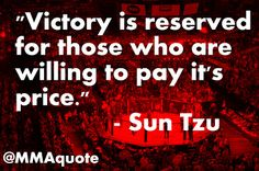 MMA Motivational Quotes & UFC Inspirational Quotes: Sun Tzu on Victory