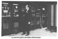 ENIAC - 1947. O primeiro grande computador electrónico.