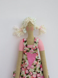 Fabric Doll - Tilda style