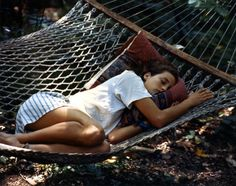 Naps in hammocks=the best naps
