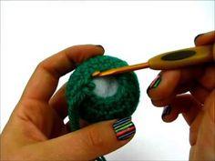 (1) Learn how to crochet Amigurumi - Lesson 1 2/2 - YouTube