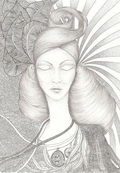 Ewa Krukowska illustration 30x50