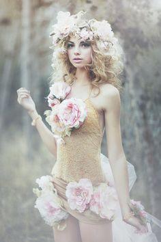 floral, cute, fashion, lens flare