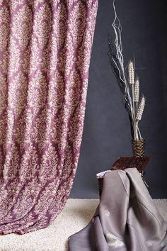 Curtain fabric MH designed curtain fabrics are fashion, elegant and unique for window treatment.