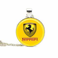 Custom Design Ferrari Car Necklace Car Pendant Traveler Car Jewelry Horse Necklace Handmade http://www.amazon.com/dp/B017MJEWX2/ref=cm_sw_r_pi_dp_F7wpwb0N93B29