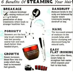 I've been starting to hear more and more about the benefits of steaming, because my hair does NOT like to hold moisture, I think Im going to purchase one from Amazon. It helps with breakage, LOCKing the moisture in, and also helps with growth!