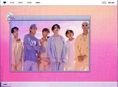 Bts Wallpaper Desktop, Kpop Drawings, Bts Aesthetic Pictures, Cybergoth, Light Of My Life, Cute Icons, Bts Edits, About Bts, Bts Group