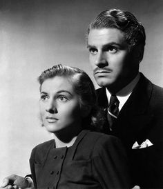 Joan Fontaine & Laurence Olivier in Rebecca