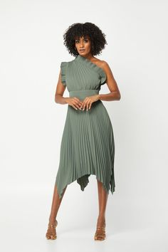 The Lady Like Midi Dress