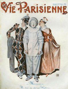 La Vie Parisienne 1931 ~ Georges Leonnec