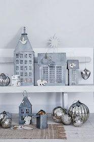 En la decoración de estilo escandinavo vemos en muchas ocasiones el zinc como material para accesorios.  Las casitas de zinc  son mu...