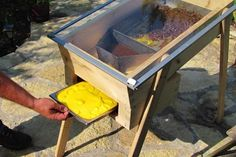 10 things to do with your Beeswax. Solar powered wax extractor. Must try this.