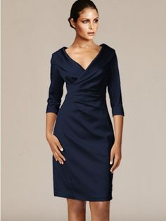 Would this be acceptable for me ? Lots of colors to choose from : ) Short V-Neck Mother Dresses with Sleeves Mother Of The Bride Gown, Mother Of Groom Dresses, Mothers Dresses, Mother Bride, Mob Dresses, Dressy Dresses, Dresses With Sleeves, Dresses Online, Pageant Dresses