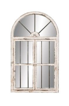 Aspire Home Accents Arched Window Wall Mirror - x in. - 74397 Home Accents Arched Window Wall Mirror - x in. Faux Window, Window Mirror, Wall Mounted Mirror, Window Wall, Wall Mirrors, Mirror Mirror, Mirror Ideas, White Mirror, Window Panes