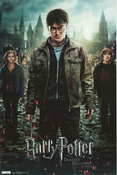 Harry Potter Deathly Hallows Part 2 Movie Poster 22x34 – BananaRoad