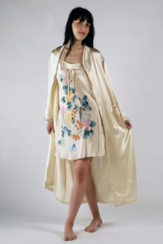 Hand Painted Sleepwear and Scarves from Texere Silk