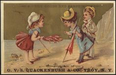 Dry goods and carpets, Compliments of G. V. S. Quackenbush & Co., Troy, N. Y. [front] | Flickr - Photo Sharing!