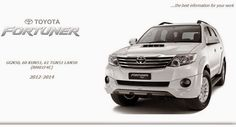 TOYOTA FORTUNER 2014 GSIC WORKSHOP MANUAL