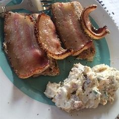 Alaska Salmon Bake with Pecan Crunch Coating Allrecipes.com - SO SO ...