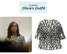 "Olivia's Jacket: Marni Geometrical Jacquard Jacket ($1,900) from Scandal Episode 312 ""We Do Not Touch the First Ladies"""