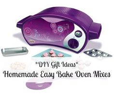 Need this for Hailee so I dont have to buy new ones for Homemade Easy Bake Oven Mixes. Homemade Christmas Gifts, Homemade Gifts, Diy Gifts, Christmas Diy, Xmas, Easy Cooking, Cooking Tips, Easy Baking Recipes, Oven Recipes