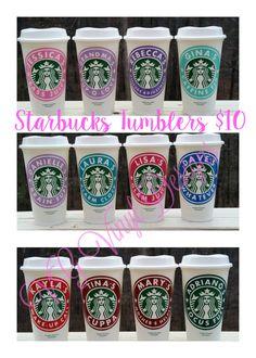 Personalized Starbucks Cup - Custom Starbucks Cup Gift - 16oz Starbucks Cup - Personalized Starbucks Tumbler