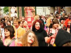 Зомби парад Москве. 2010 год.